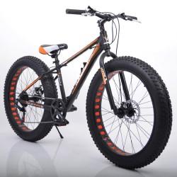 """Велосипед двухколесный Sigma S800 HAMMER EXTRIME 24"""" черно-красный"""