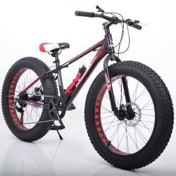 """Велосипед двухколесный Sigma S800 HAMMER EXTRIME 26"""" черно-красный"""