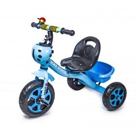 Велосипед триколісний Scale Sport Божа корівка, синій