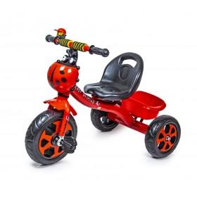 Велосипед триколісний Scale Sport Божа корівка, червоний