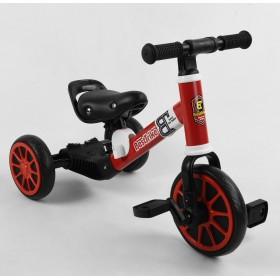 Велосипед-біговел, 2 в 1 Best Trike 36617 червоний