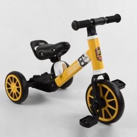 Велосипед-біговел, 2 в 1 Best Trike 71616 жовтий