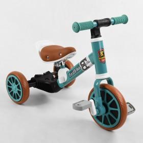 Велосипед-біговел, 2 в 1 Best Trike 73543 бірюзовий