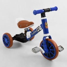 Велосипед-біговел, 2 в 1 Best Trike 96021 синій