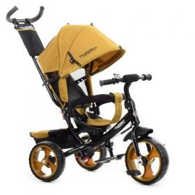 Велосипед трехколесный TURBOTRIKE М 3113-24, желтый