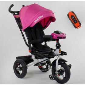 Велосипед трехколесный Best Trike 6088 F New 2020 фара c USB (06-755) розовый