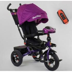 Велосипед трехколесный Best Trike 6088 F New 2020 фара c USB (01-570) фиолетовый