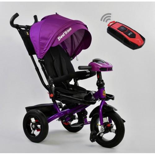 Велосипед трехколесный Best Trike 6088 F с пультом, фиолетовый New
