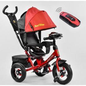 Велосипед трехколесный Best Trike 7700 В с пультом, красный New!