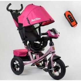 Велосипед трехколесный Best Trike 7700 В new 2020 (78-565) розовый