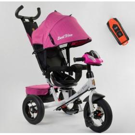 Велосипед трехколесный Best Trike 7700 В new 2020 (71-375) розовый