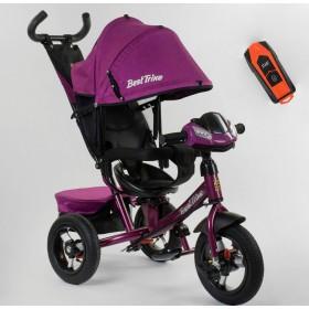 Велосипед трехколесный Best Trike 7700 В new 2020 (76-839) фиолетовый