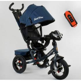 Велосипед трехколесный Best Trike 7700 В new 2020 (74-505) синий