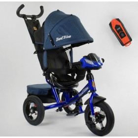 Велосипед трехколесный Best Trike 7700 В new 2020 (77-448) синий