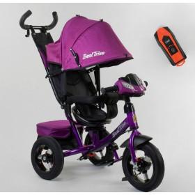 Велосипед трехколесный Best Trike 7700 В new 2020 (75-785) фиолетовый