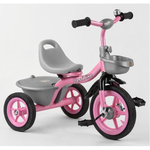 Велосипед трехколесный Best Trike BS-1142 розовый