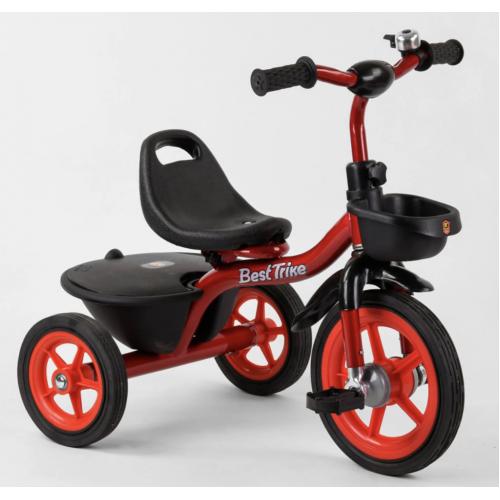 Велосипед трехколесный Best Trike BS-1788 красный