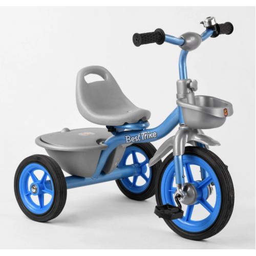 Велосипед трехколесный Best Trike BS-2478 голубой