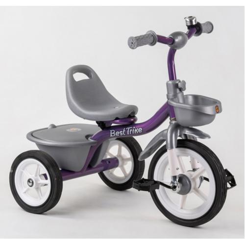 Велосипед трехколесный Best Trike BS-4298 фиолетовый