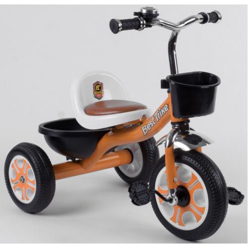 Велосипед трехколесный Best Trike LM 5207 оранжевый