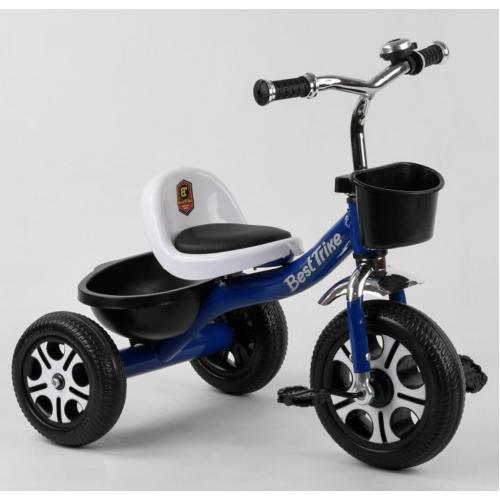 Велосипед трехколесный Best Trike LM 6122 синий