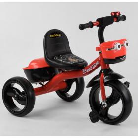 Велосипед трехколесный Best Trike с двумя корзинками 97282 красный