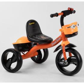 Велосипед трехколесный Best Trike с двумя корзинками 19840 оранжевый