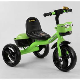 Велосипед трехколесный Best Trike с двумя корзинками 19593 зеленый