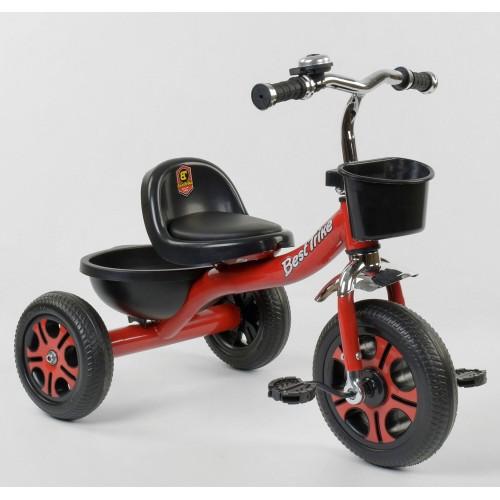 Велосипед трехколесный Best Trike LM 3577 красный