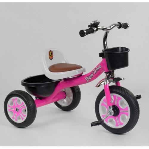 Велосипед трехколесный Best Trike LM 2806 розовый