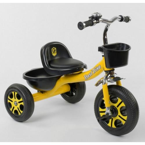 Велосипед трехколесный Best Trike LM 9033 желтый