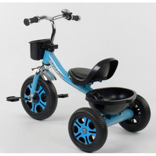 Велосипед трехколесный Best Trike LM 4405 голубой