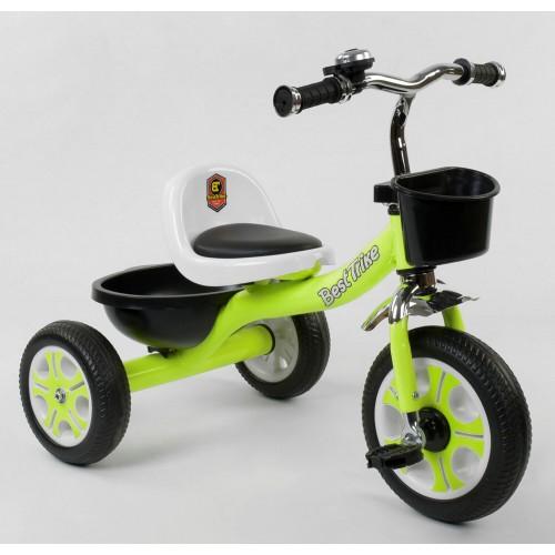 Велосипед трехколесный Best Trike LM 3109 зеленый