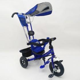 Велосипед трехколесный Lexus-Trike Lex-007 (10/8 AIR wheels) синий