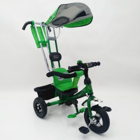Велосипед трехколесный Lexus-Trike Lex-007 (10/8 AIR wheels) зеленый