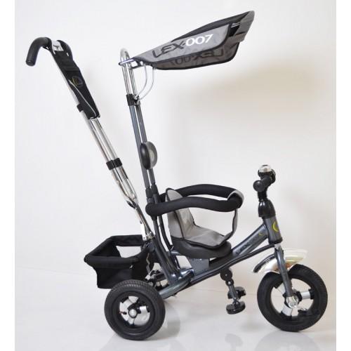 Велосипед трехколесный Lexus-Trike Lex-007 (10/8 AIR wheels), Серый