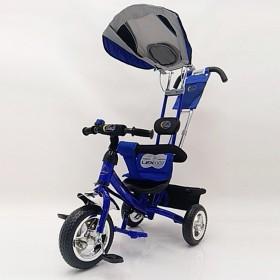 Велосипед трехколесный Lexus-Trike Lex-007 (10/8 EVA wheels) синий