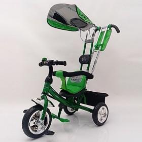 Велосипед трехколесный Lexus-Trike Lex-007 (10/8 EVA wheels) зеленый