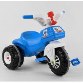 Велосипед триколісний Pilsan 07-119 біло-синій