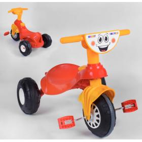 Велосипед триколісний Pilsan 07-132 червоно-помаранчевий
