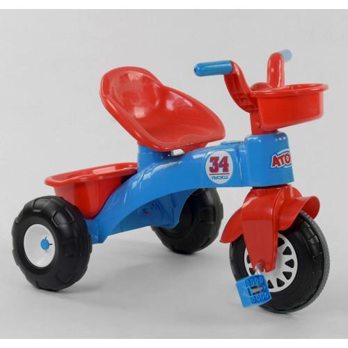 Велосипед трехколесный Pilsan 07-169 красно-синий