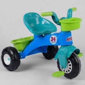 Велосипед триколісний Pilsan 07-169 блакитний