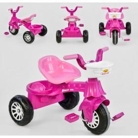 Велосипед триколісний Pilsan 07-140 рожевий