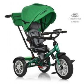 Велосипед трехколесный TURBOTRIKE M 4057 зеленый