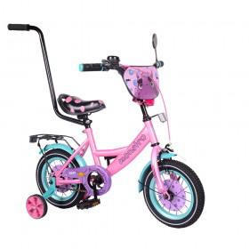 """Велосипед двухколесный Tilly Monstro T-21229/1 12"""" розовый"""
