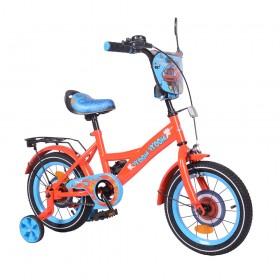 """Велосипед двухколесный Tilly Vroom T-214212/1 14"""" красный"""