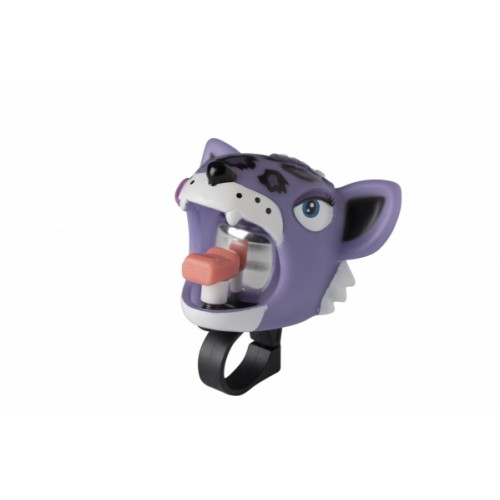 Звонок CRAZY SAFETY Пурпурный Леопард