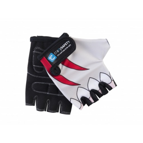 Защитные перчатки CRAZY SAFETY Белая Акула