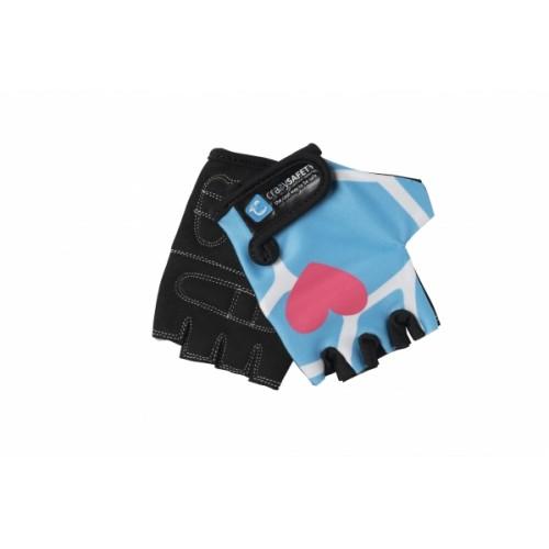 Защитные перчатки CRAZY SAFETY блакитний Жираф