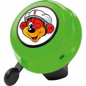 Звонок Puky G22 для беговелов, велосипедов и SpeedUs, зеленый